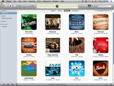 iTunes 8 screenshot